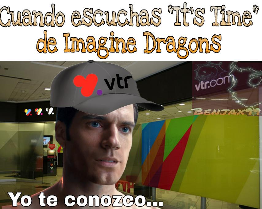 La canción se utiliza en los comerciales de VTR - meme