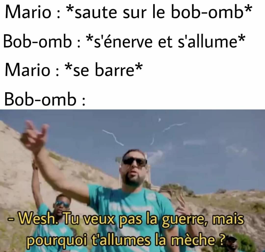 Mario best player - meme