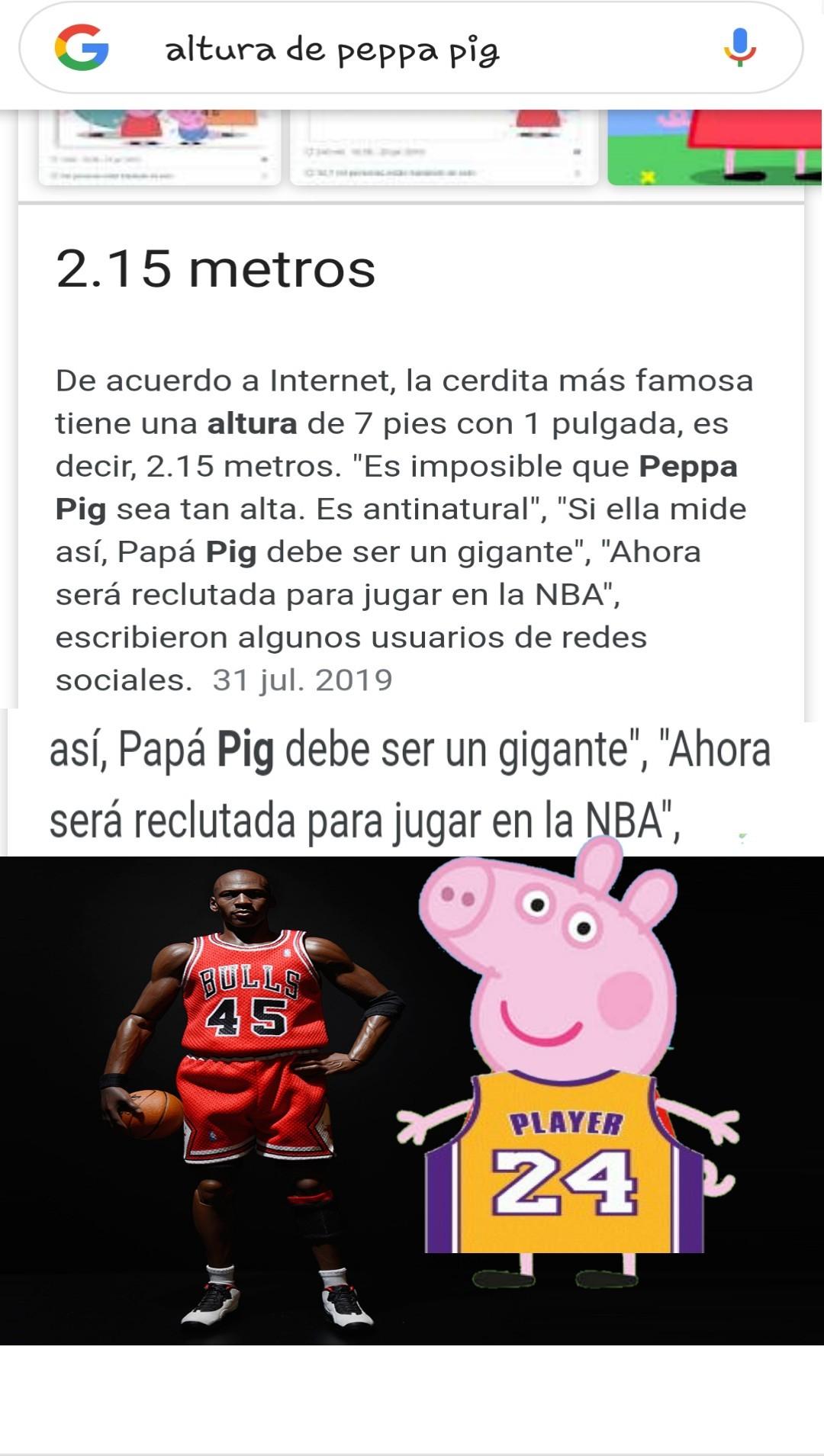 Peppa Jordan - meme