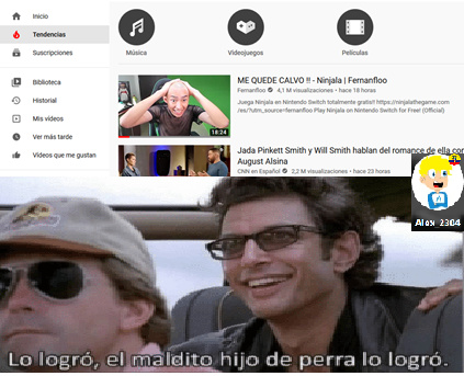 #1 en tendencias - meme