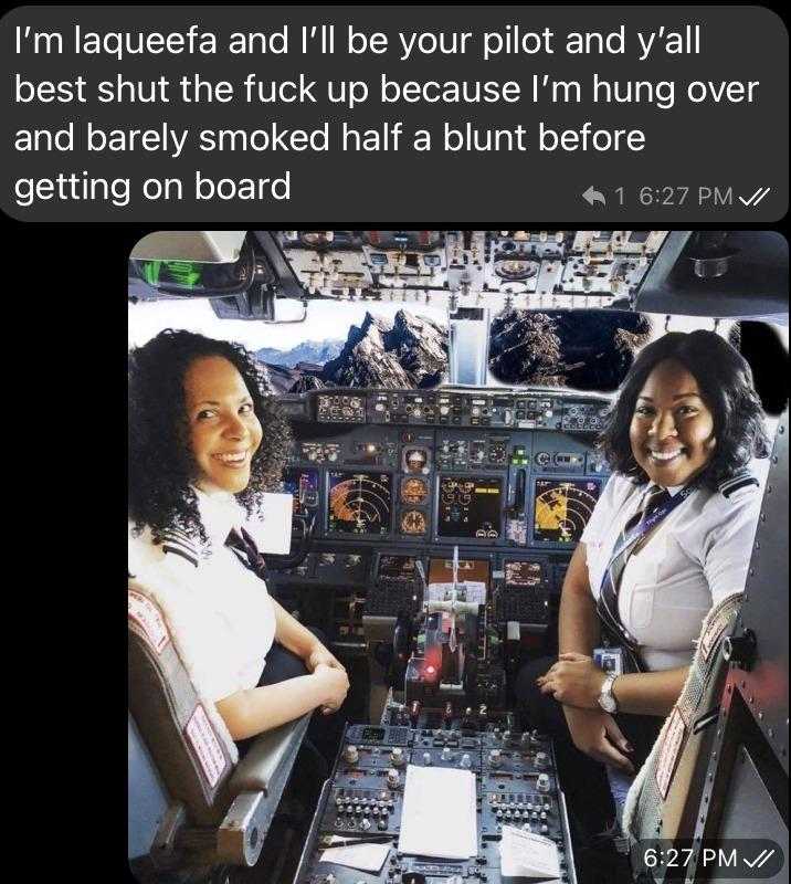 Black airlines - meme