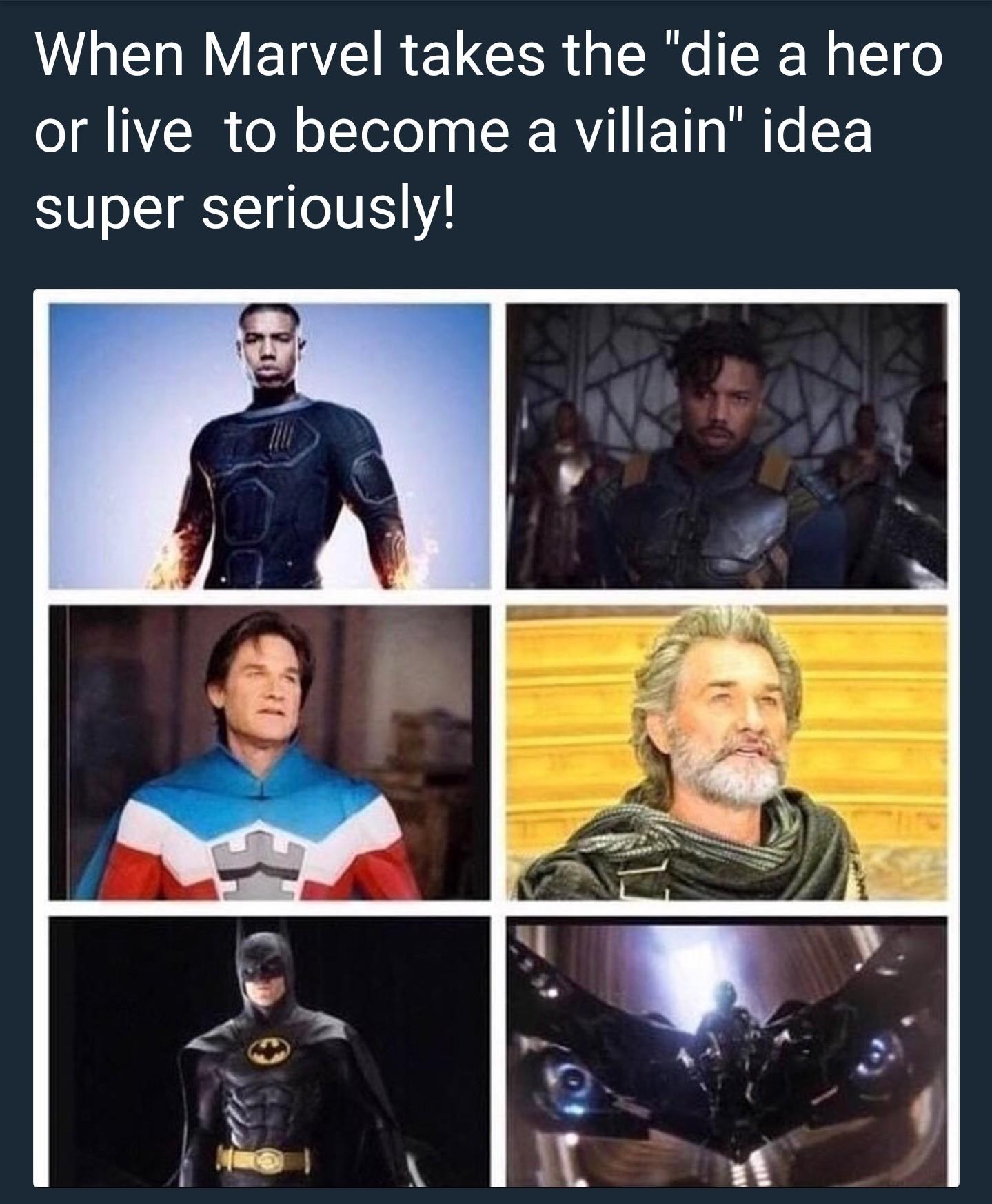 You either die as a hero.... Or live long enough to become a reposter - meme