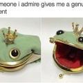 I too am a froggy purse