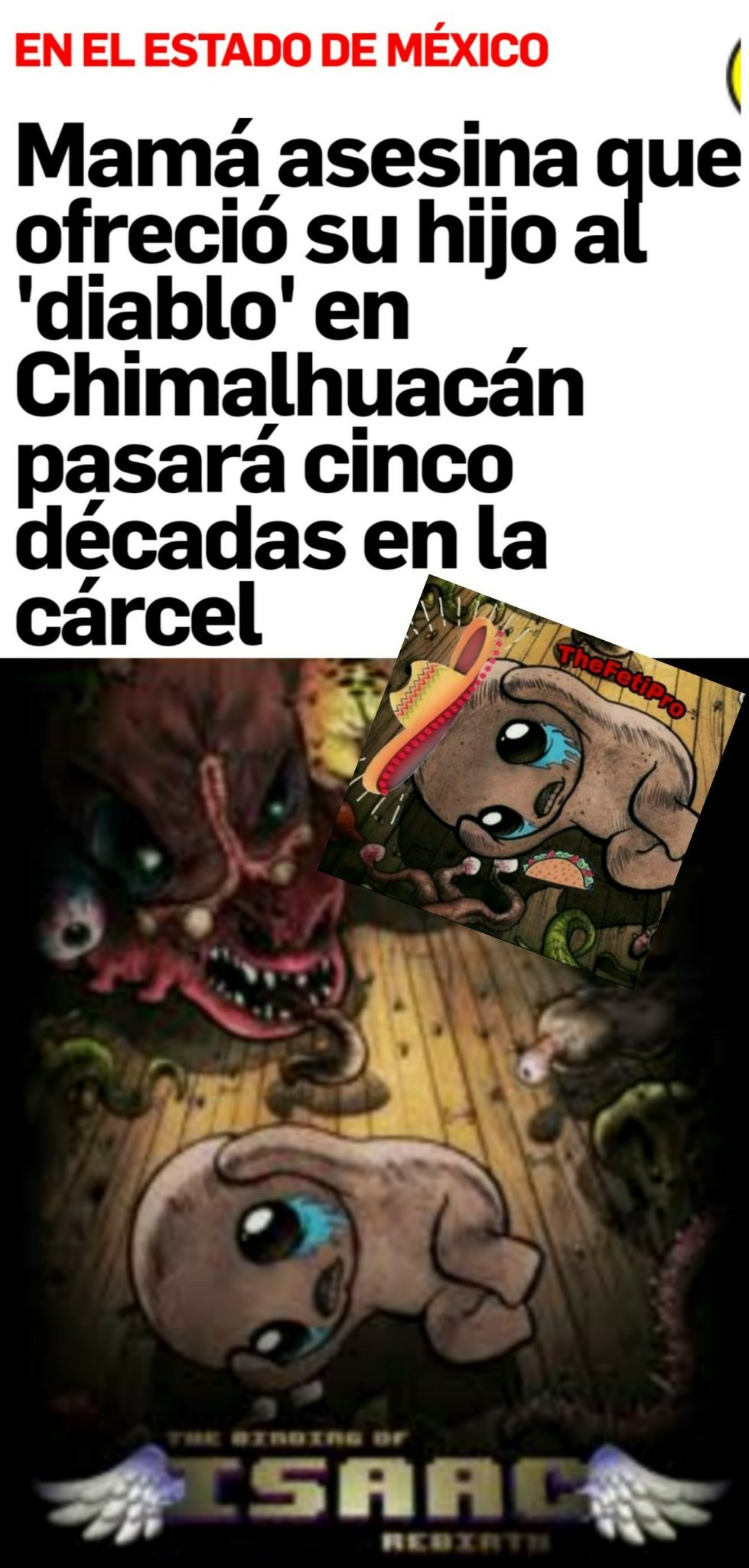 The binding of isaac - meme