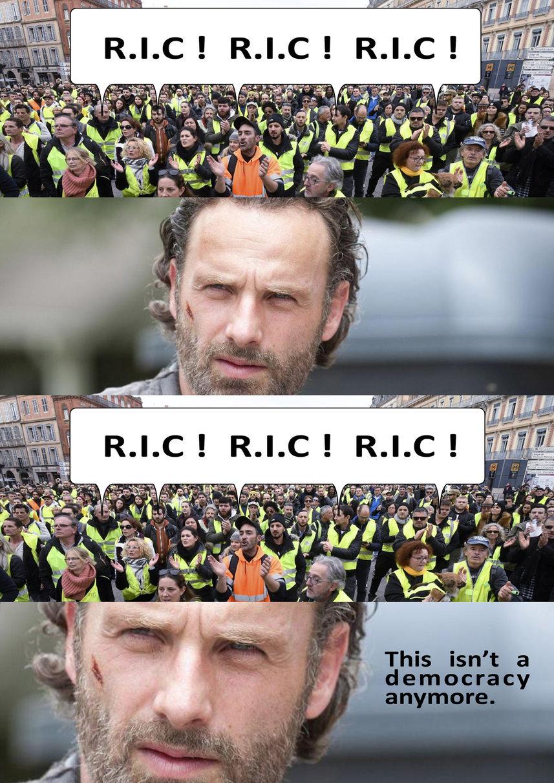 R.I.C. Grimes - meme