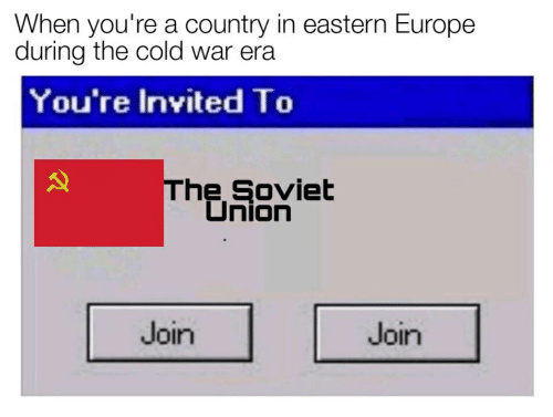 Hello from the Soviet Union! - meme
