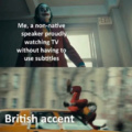 At least its not  Nigglish accent