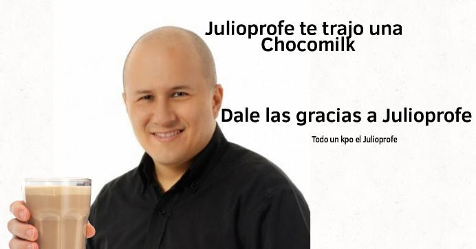 Alto kpo el Julioprofe - meme