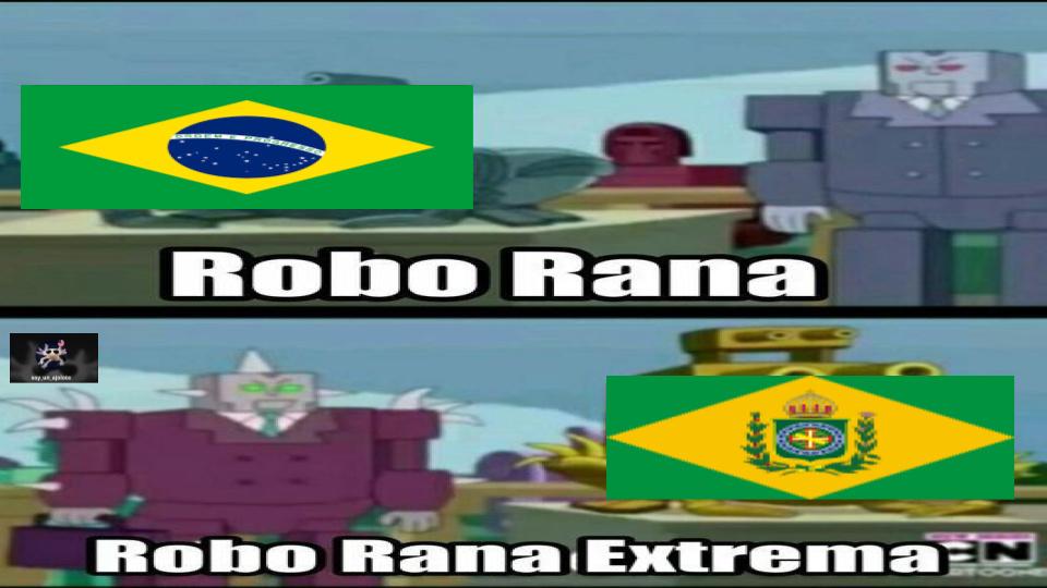 el robo rana extremo era el imperio de brasil si se preguntan - meme