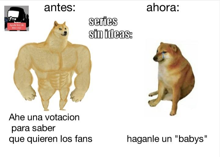 Series animadas be like: - meme