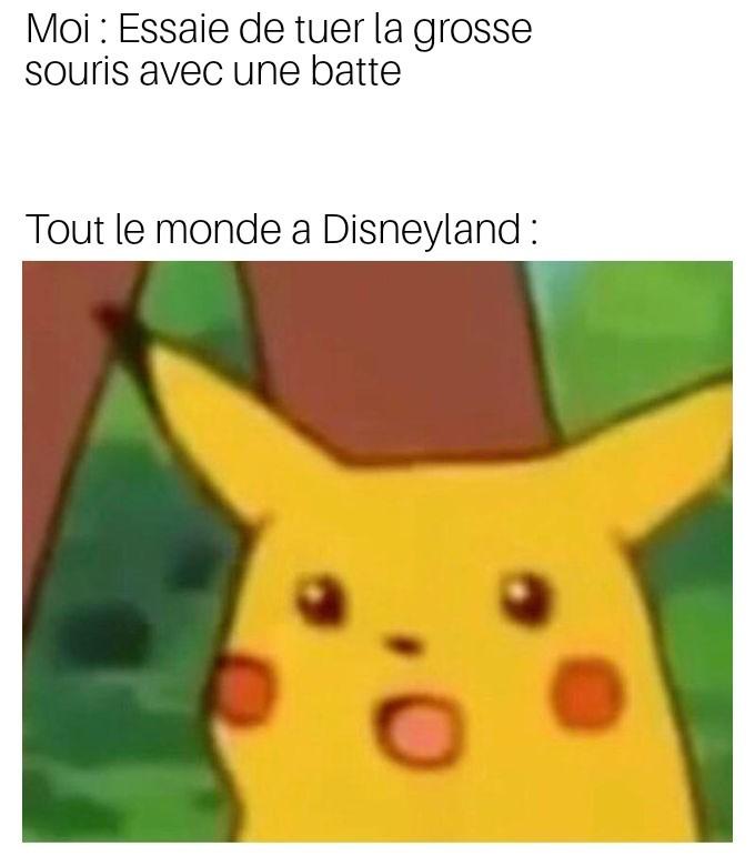 Pikachu souris toussa - meme