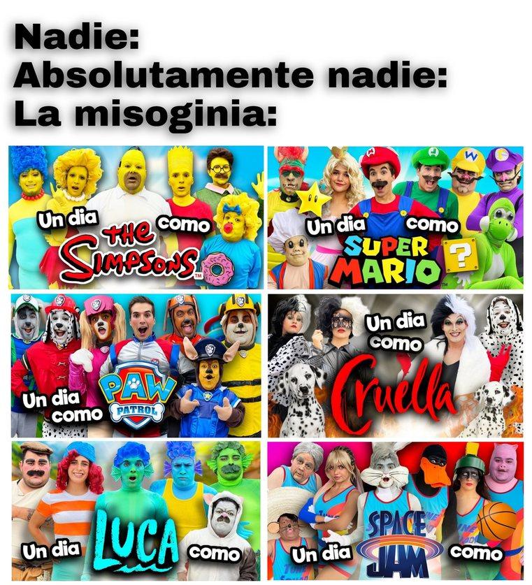 Misoginia be like: - meme