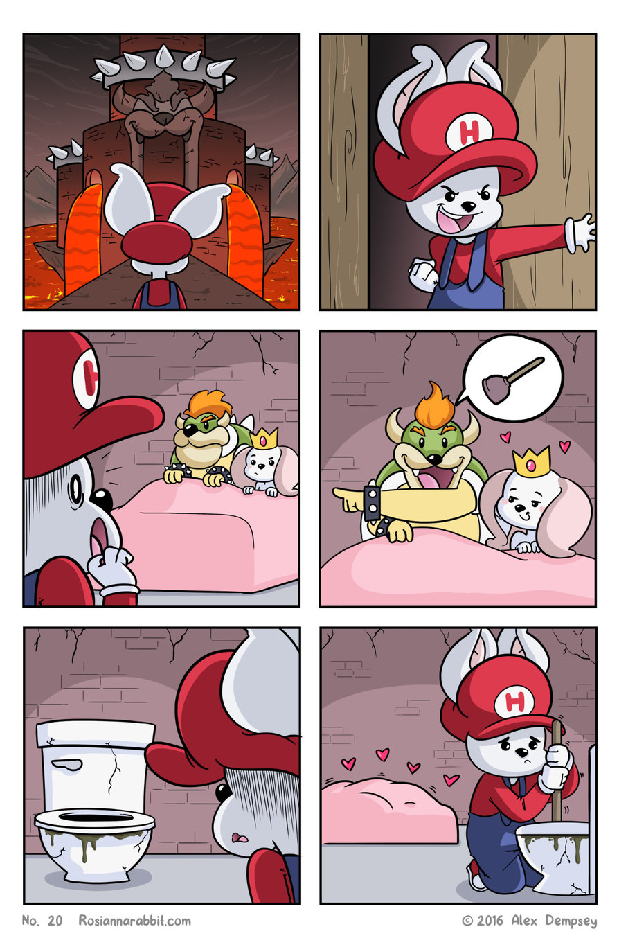 Mario needs to lay some pipe! - meme