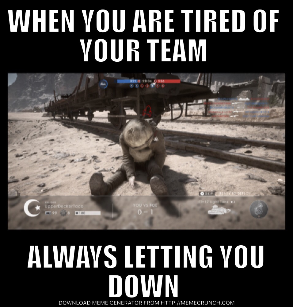 battlefield let down - meme