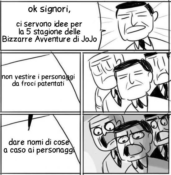 GIORNO GIOVANNA! - meme