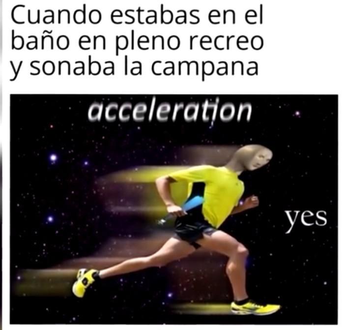 Aceleraition - meme