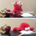 govt loves Wall Street