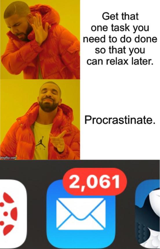 My inbox - meme