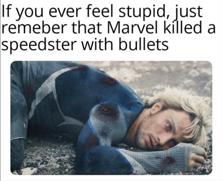 Who else but Marvel - meme