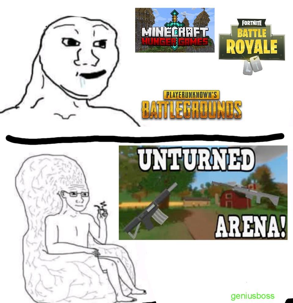 Free fall arena - meme