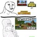 Free fall arena