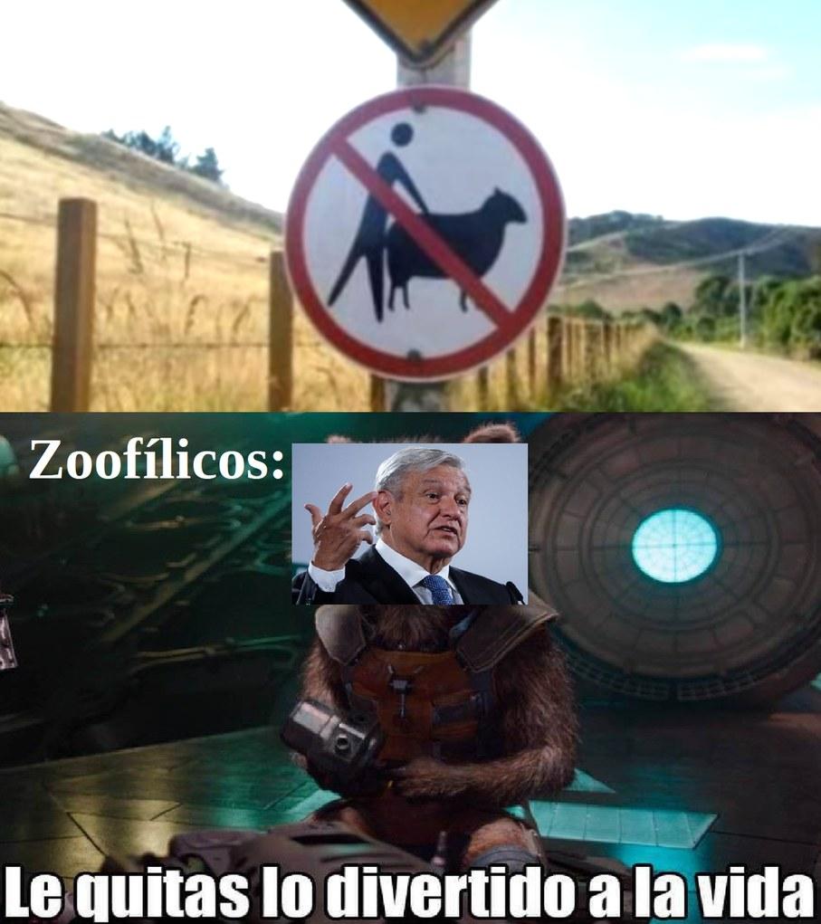 Xd amlo zoofilico - meme