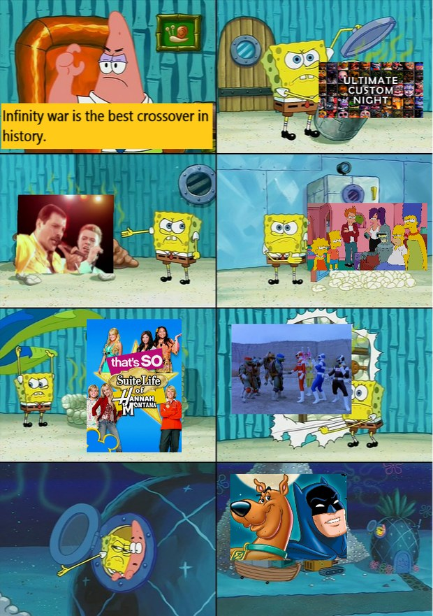 i like infity war tho - meme