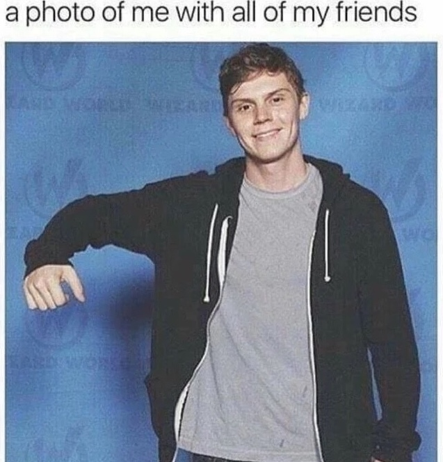 He's lonely - meme