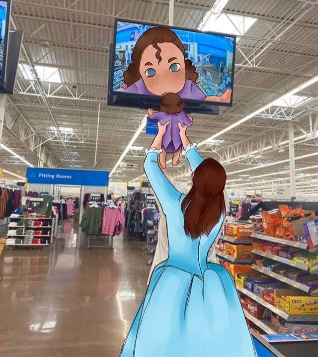 Walmart Camera meme 1
