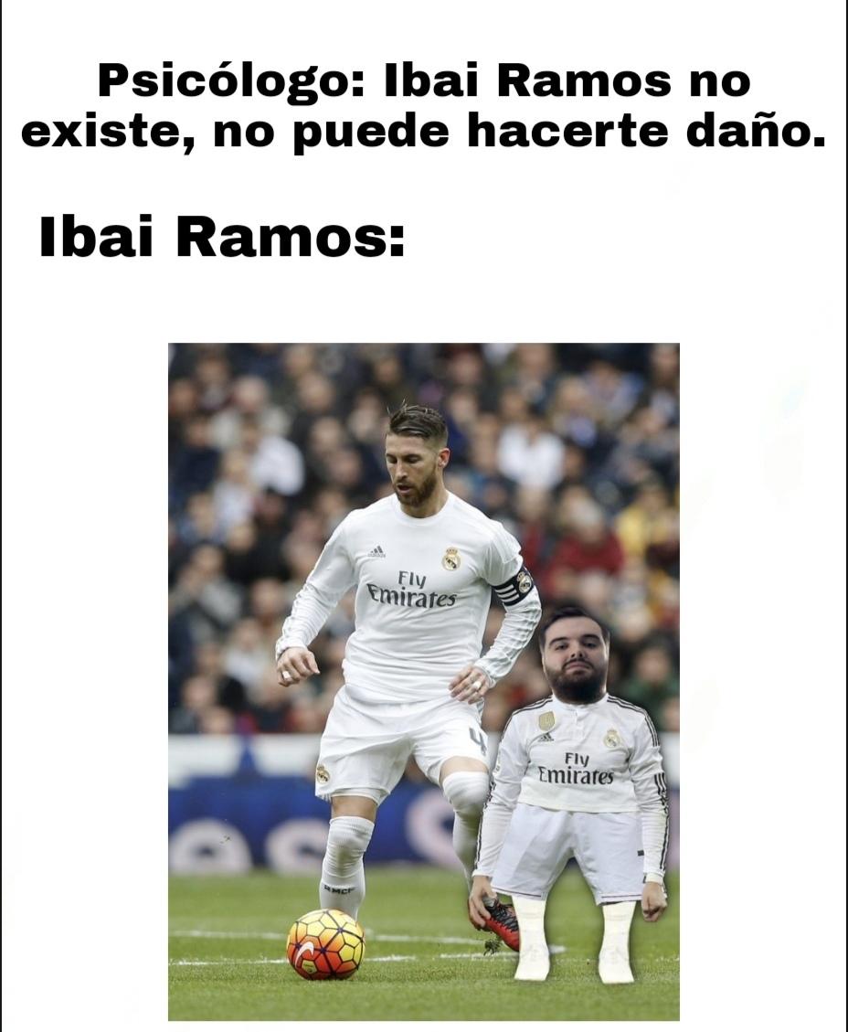 Contexto: una presentadora dijo Ibai Ramos en lugar de Llanos, un tipo de Twitter hizo esta imagen y la cogí para hacer un meme, que seguramente revienten a negativos, bueno, no creo que nadie llegue hasta aqui, en caso afirmativo: gay xD