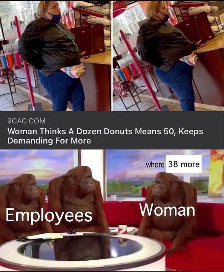 fat Karen - meme