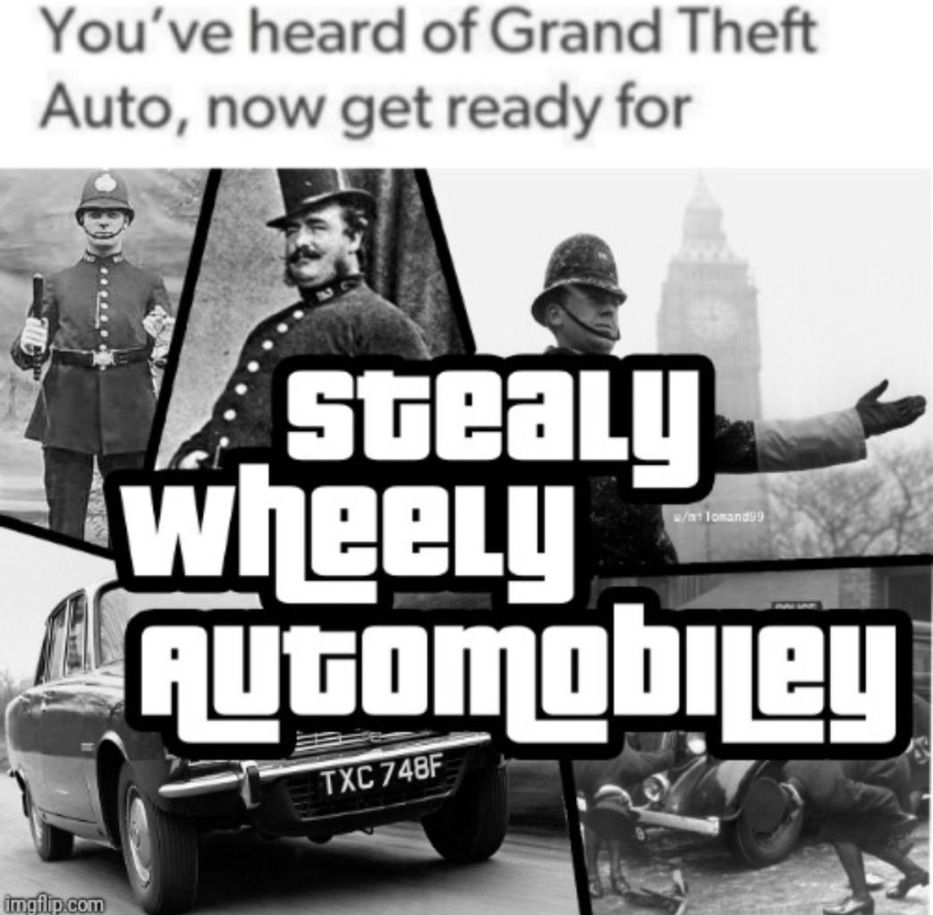 British GTA - meme