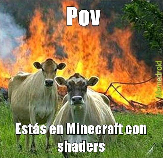 No encontré otra plantilla que se acerca más a Minecraft - meme