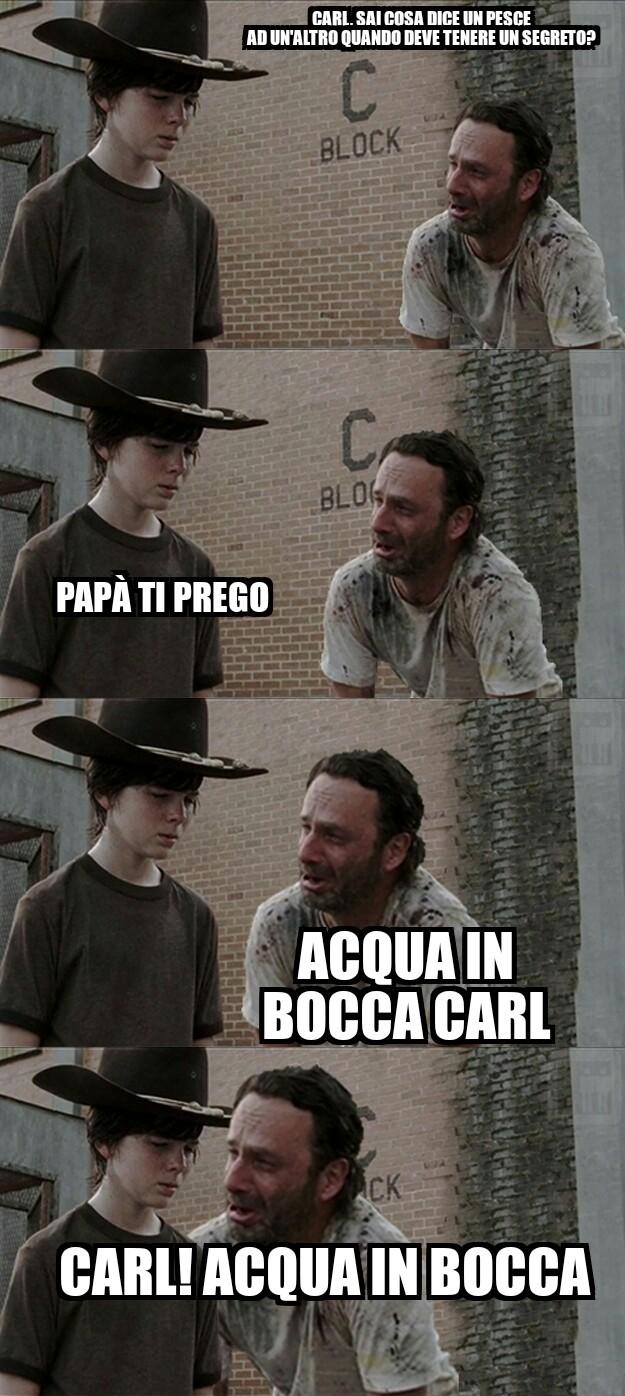 pesce a pesce - meme