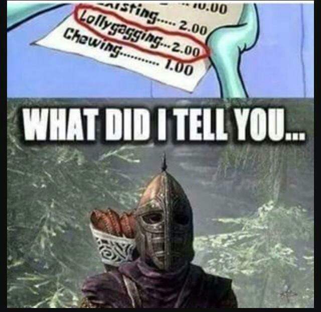 The best -skyrim guard memes :) Memedroid