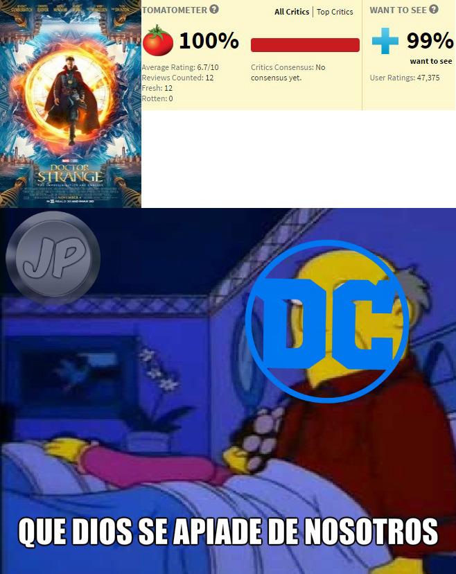 Que dios los proteja - meme