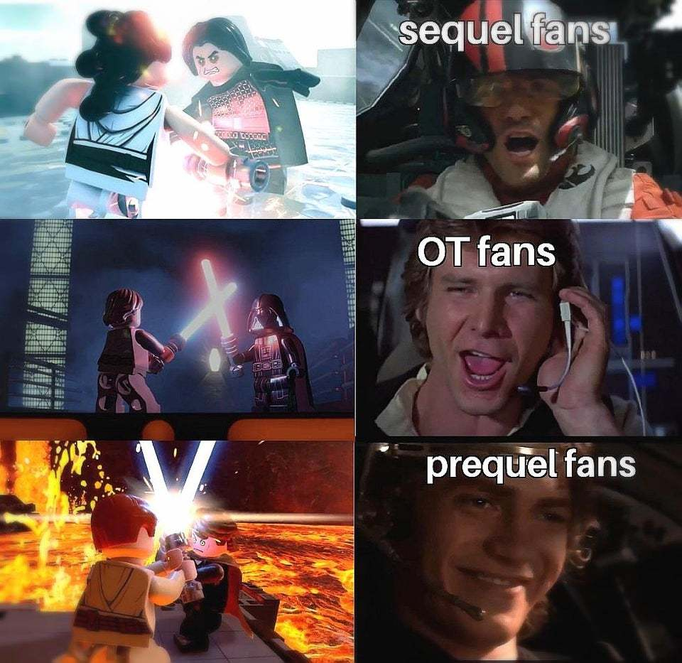 Lego Star Wars The Skywalker Saga is going to be lit - meme