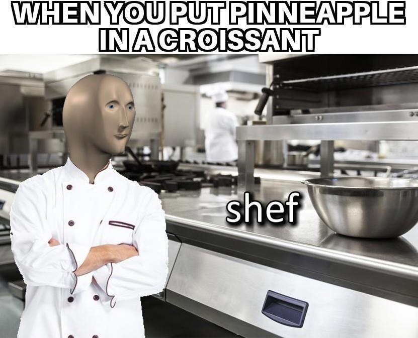 Croissant - meme