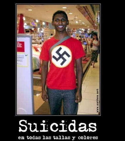Un negro nazi! - meme