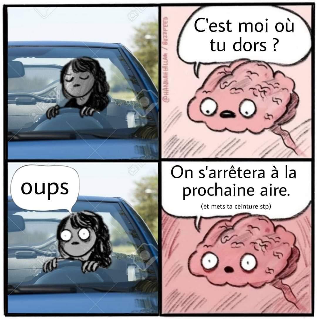 Attention au accident - meme