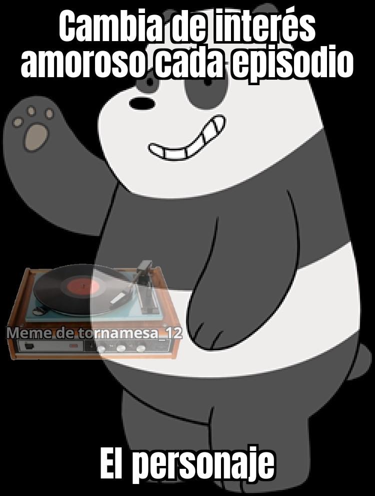 Panda claramente es un SIMP y no digo eso de cualquiera - meme