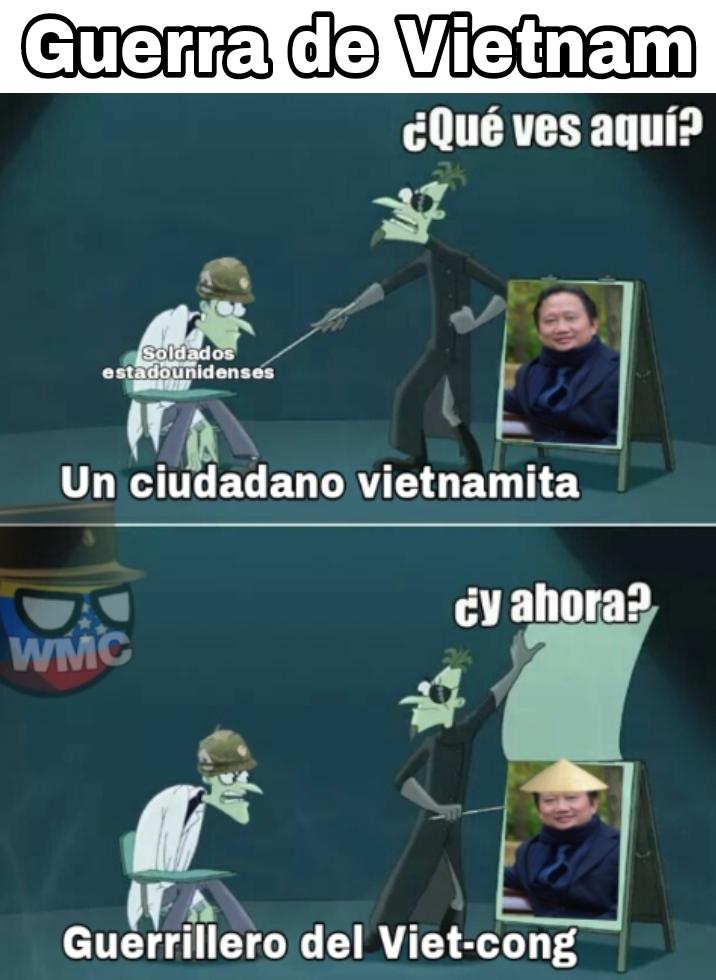 Sombrero de paja= Guerrillero - meme