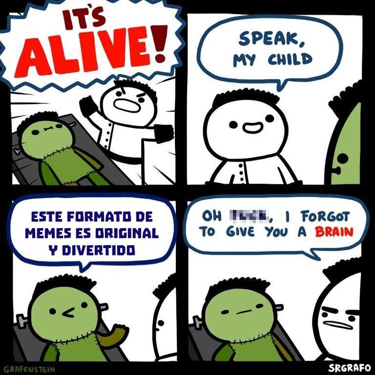 No, no lo es - meme