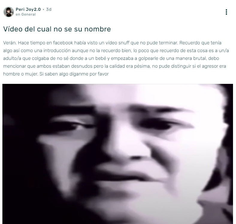 Estaba Viendo Las Discusiones De Lost Media Wiki Y Me Encuentro Con Esta Mierda .___. - meme