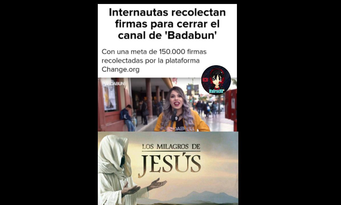 Los milagros de Jesús por favor acepten - meme
