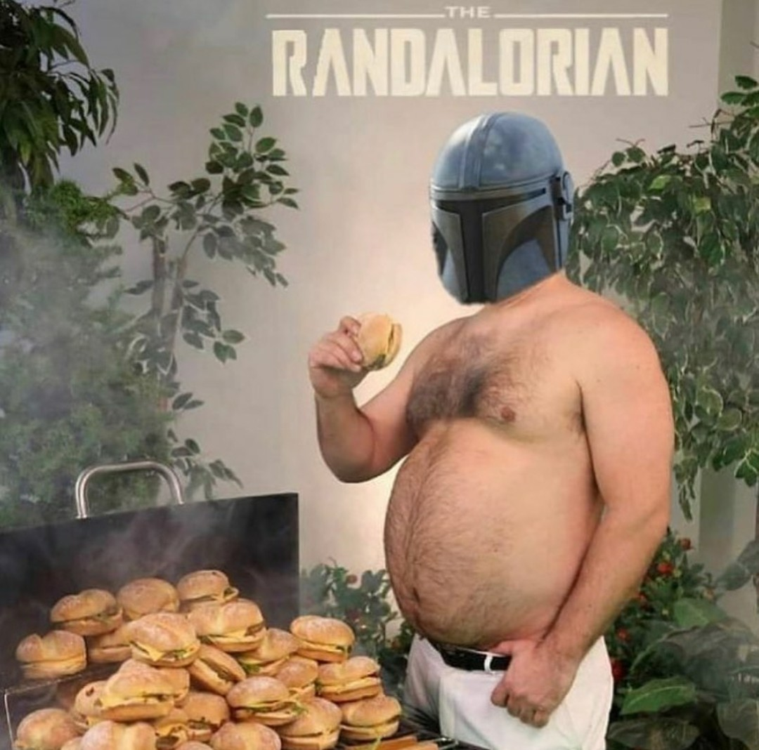 Who needs the mandalorian when you have this! - meme