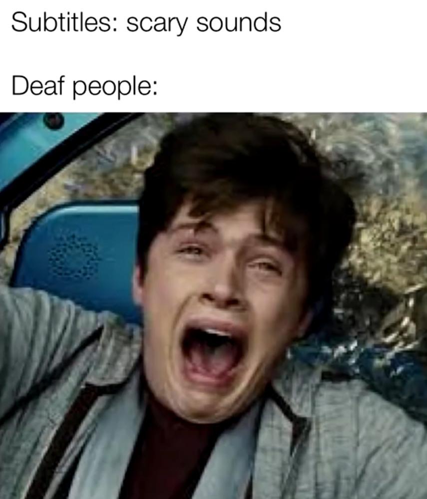 *Scares* - meme