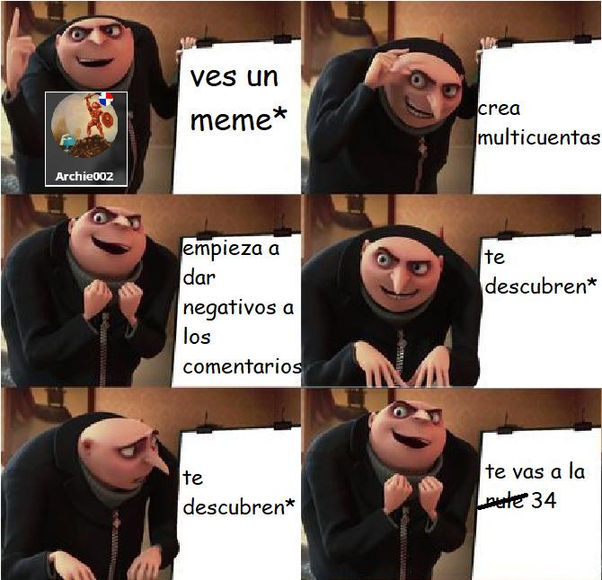 el plan de archie - meme