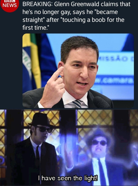 He'll never be the same - meme