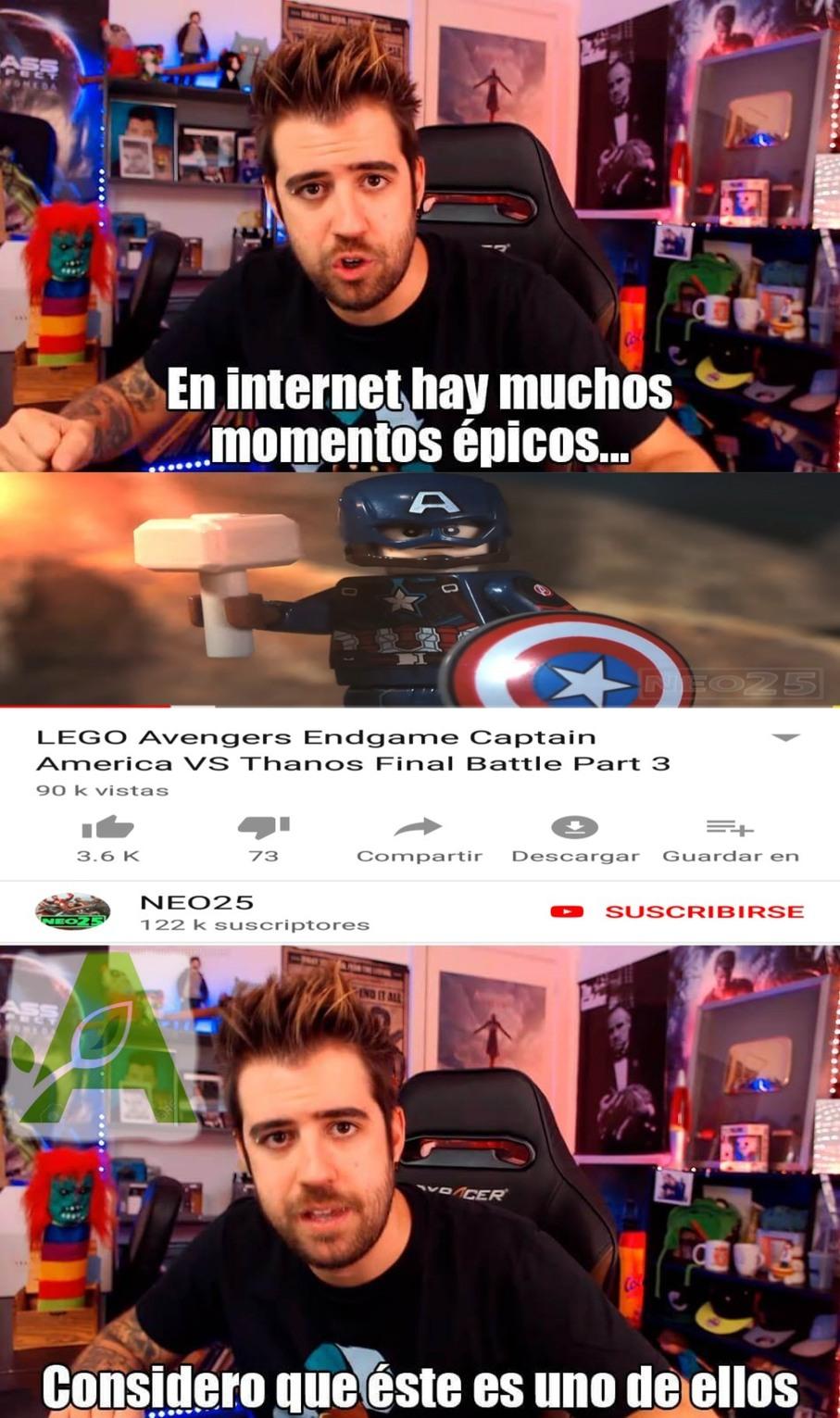LEGO Marvel - meme